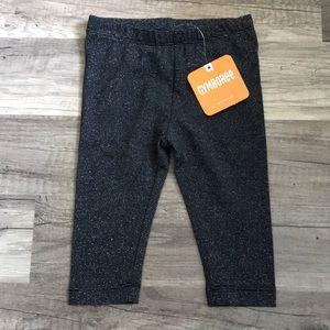 Girls Black Gymboree Glittery Leggings NEW *2/$20